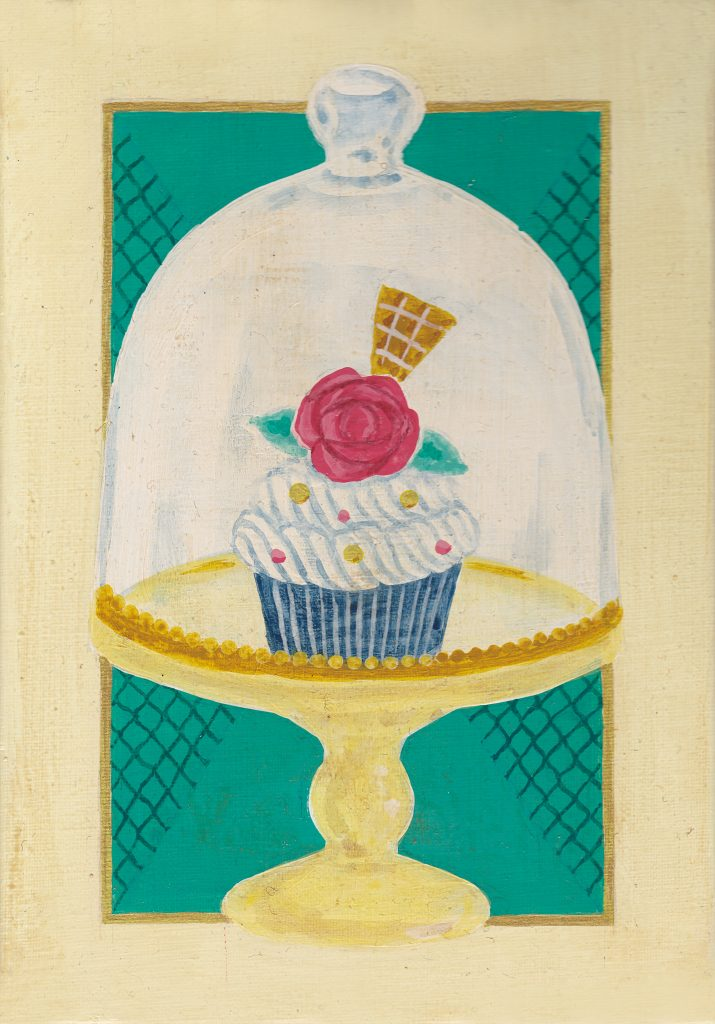 個展「Souvenir」『カフェ・ド・スヴニールの今日のカップケーキ