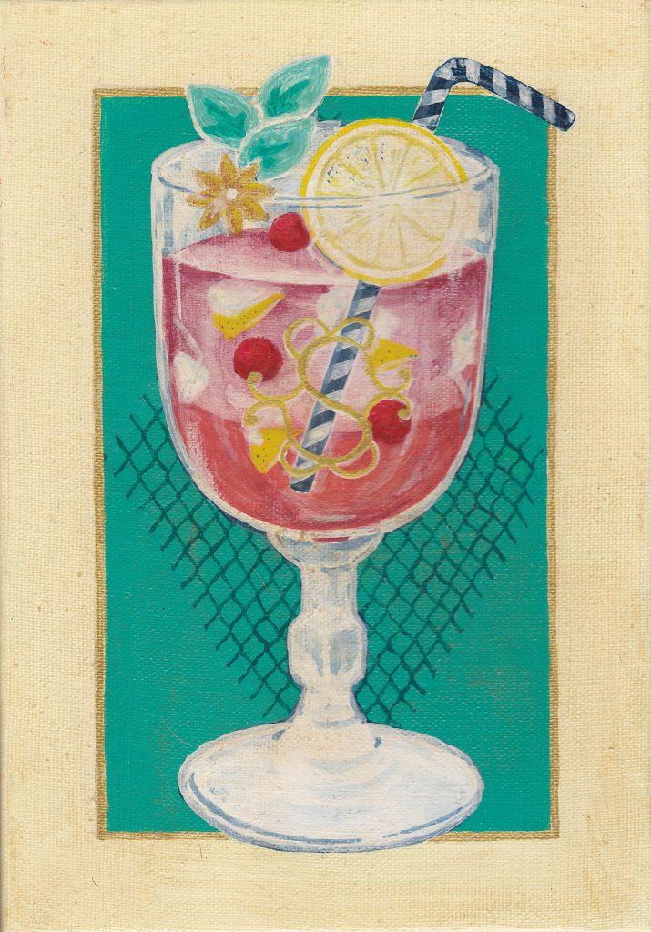個展「Souvenir」『カフェ・ド・スヴニールのワイン